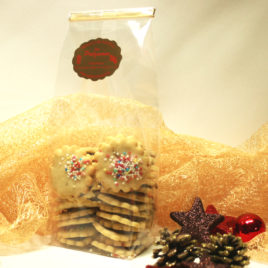 Shortbread with nougat