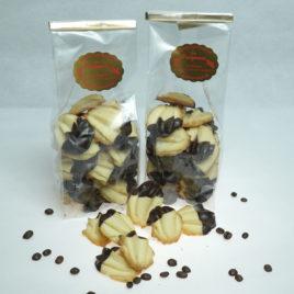 Spritzgebäck mit Schokolade 1 x 200 g